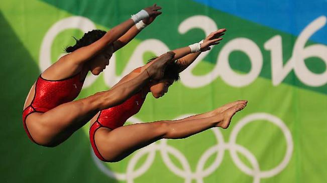 跳水女子双人十米台:陈若琳/刘蕙瑕夺冠 - 激情久久 - 激情久久