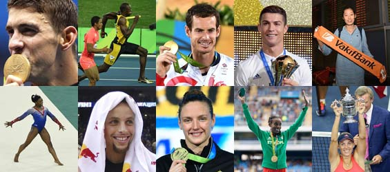 Yearender: Top 10 world athletes of 2016