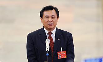 民航局局長馮正霖接受採訪