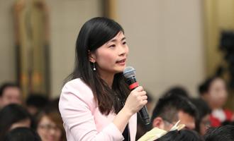 香港中評社記者提問