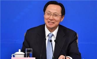 韓長賦回答記者提問