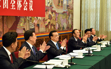 李克強參加西藏代表團審議