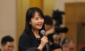 中國經濟網記者提問