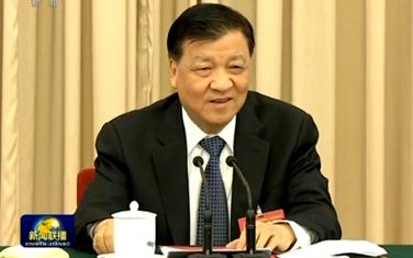 劉雲山參加吉林代表團審議