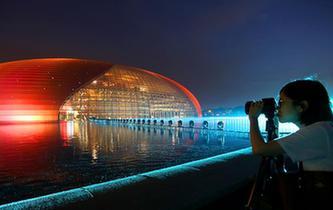 北京:璀璨夜景迎盛會