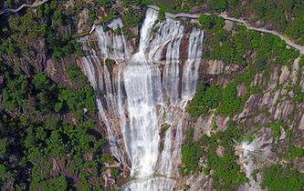 285米巨型白練!浙江天臺重現大瀑布自然景觀