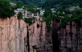 太行深處絕壁峽谷