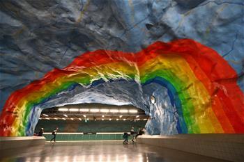 斯德哥爾摩:地下的藝術長廊