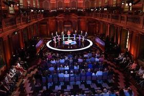 英國舉行大選電視辯論