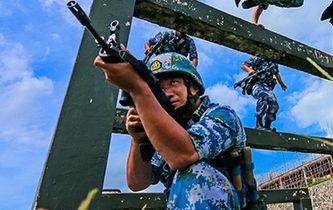 海軍陸戰隊特種障礙訓練,敢來嗎?