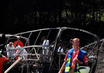 德國巴伐利亞州發生嚴重車禍致31人重傷