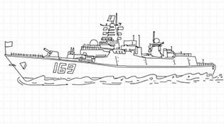 画说中国海军第一批护航编队