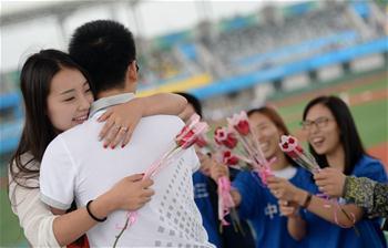 【全運會·花絮】七夕節棒球比賽現場求婚