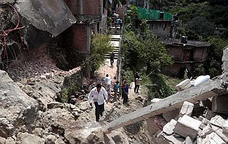 墨西哥中部地震遇難人數升至120人
