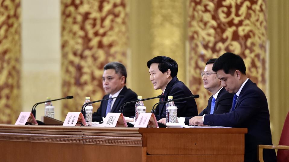 中國共産黨第十九次全國代表大會新聞發言人新聞發布會