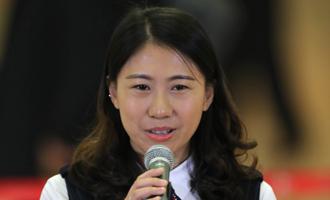 杜玉濤代表接受採訪