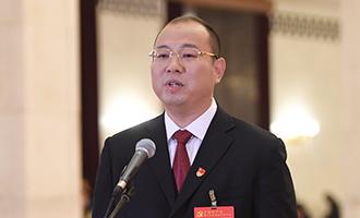 蔡松濤代表接受採訪