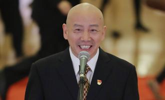 孟廣祿代表接受採訪