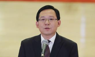 蔣成華代表接受採訪