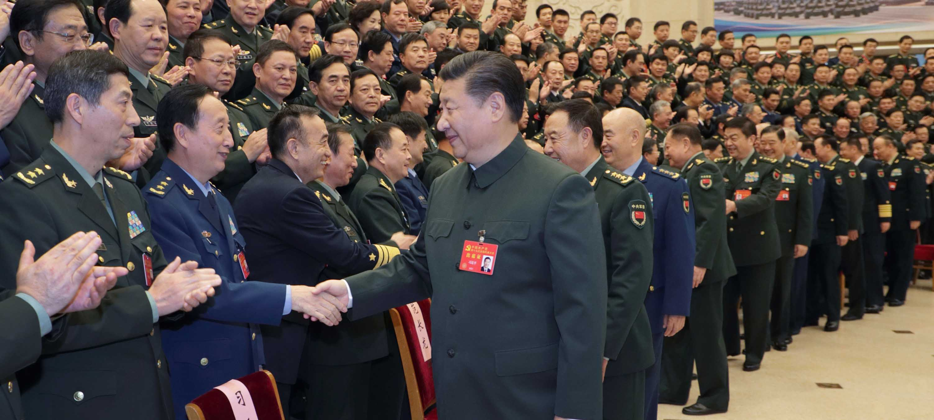 Xi calls for building a strong army