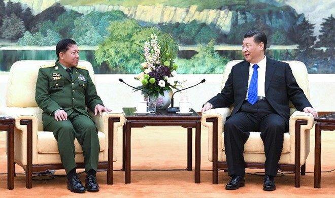 Xi says China to play constructive role in Myanmar peace process
