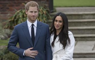 英國哈裏王子宣布訂婚