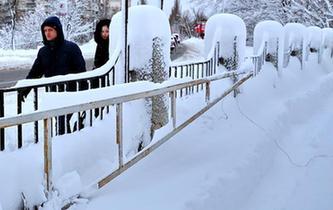 烏克蘭大雪