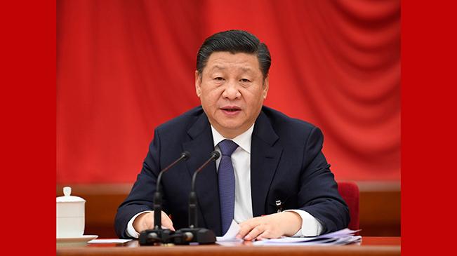 中國共産黨第十九屆中央委員會第二次全體會議在京舉行