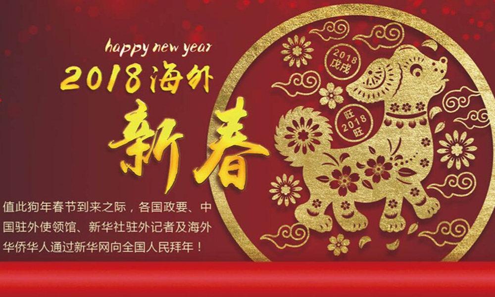 国际政要、驻华大使通过新华网向中国网友拜年!