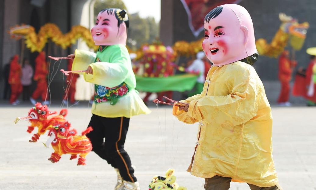 多彩民俗庆新春