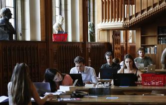 探訪比利時魯汶大學圖書館