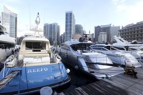 黎巴嫩舉行國際豪華遊艇展