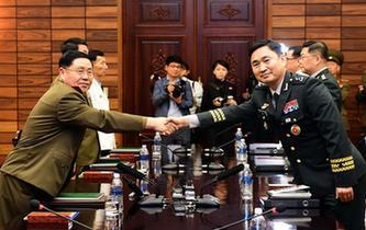 韓朝時隔十年重啟高級別軍事會談