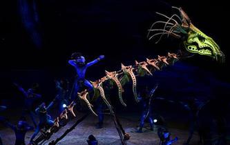 太陽馬戲《阿凡達前傳:托魯克-首次翱翔》北京上演