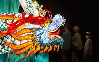 中國燈展亮相加拿大國家展覽會