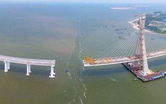 海南鋪前大橋主橋有望10月合龍 鋪前到海口僅20分鐘