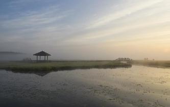河北塞罕壩:秋晨美如畫
