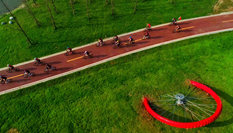 """成都開通首條自行車""""高速路"""""""