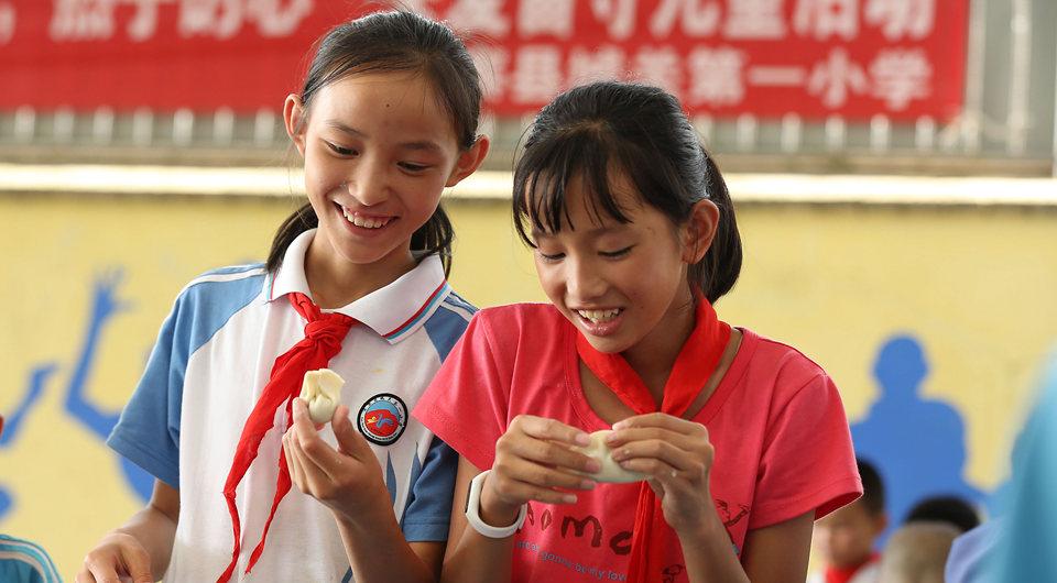 贵州丹寨:留守不孤单 喜迎中秋节
