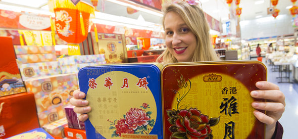 多伦多:买月饼庆中秋