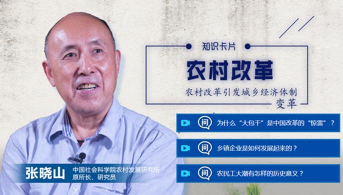 40年40问丨张晓山:农村改革如何实现制度创新?