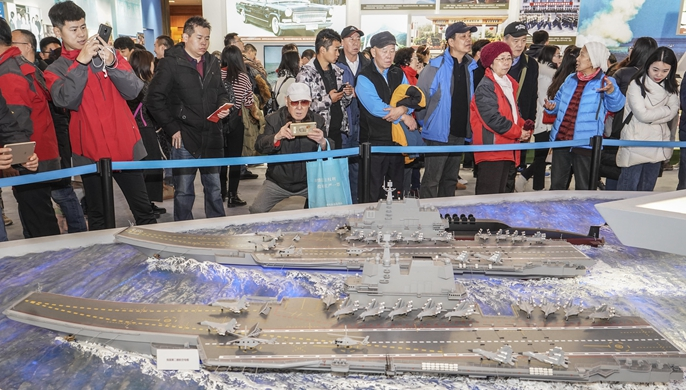 庆祝改革开放40周年大型展览累计参观人数突破170万