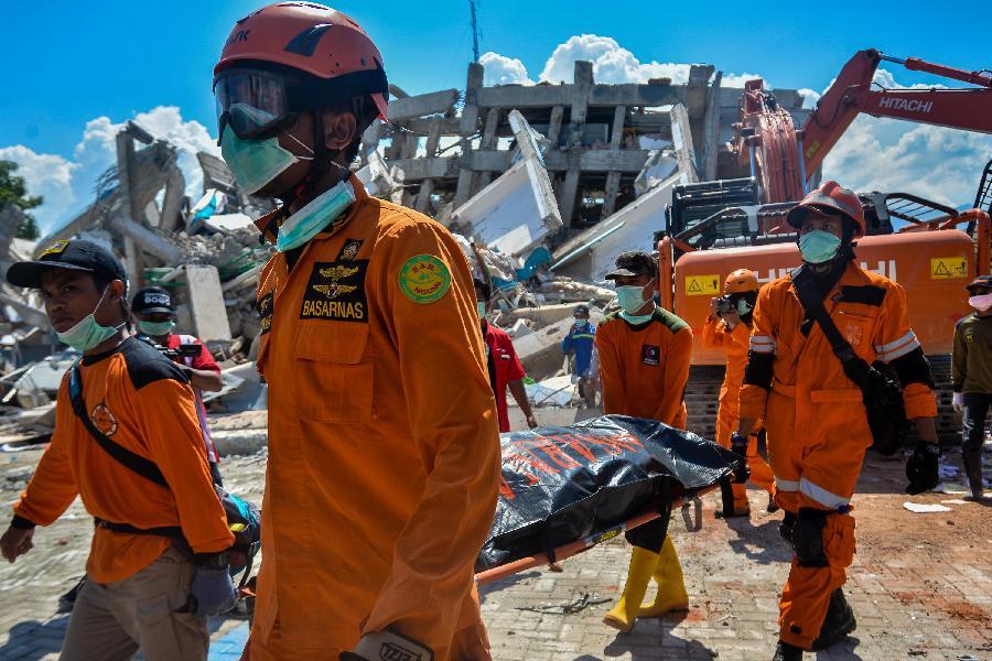 6、印尼强震海啸造成重大伤亡