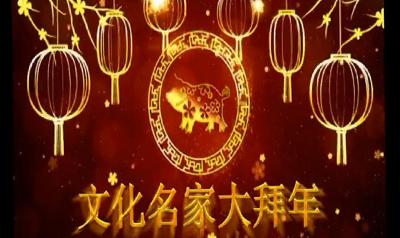 恭賀新春!新華網文化名家大拜年