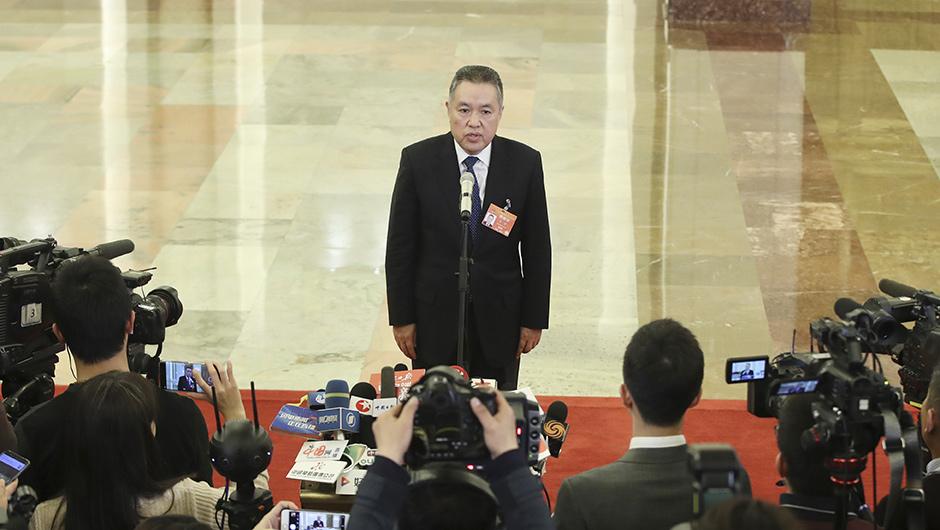 國家市場監督管理總局局長張茅接受採訪