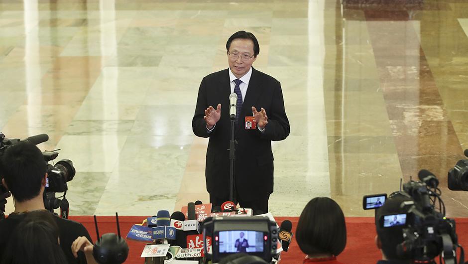 農業農村部部長韓長賦接受採訪
