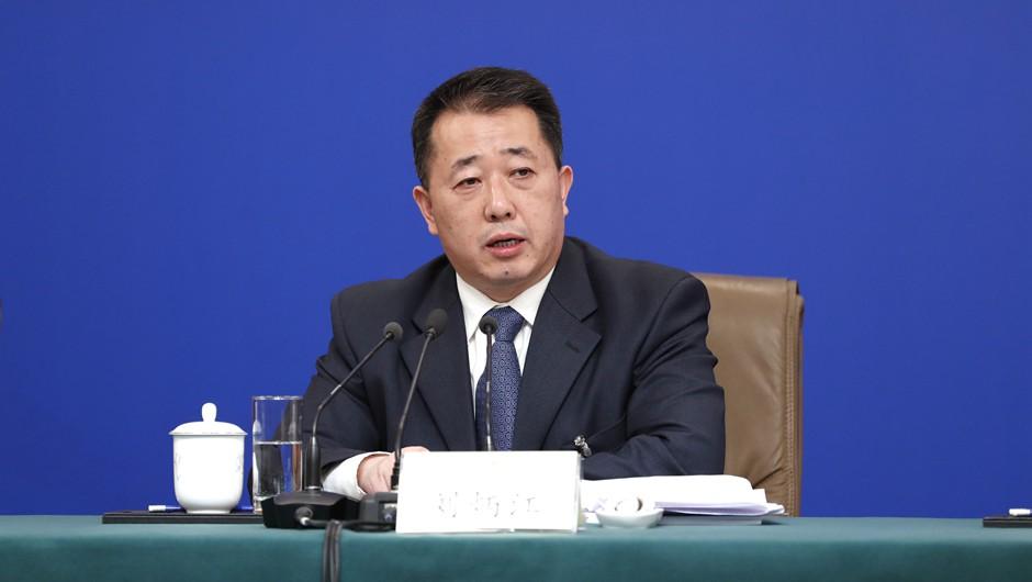 劉炳江回答記者提問