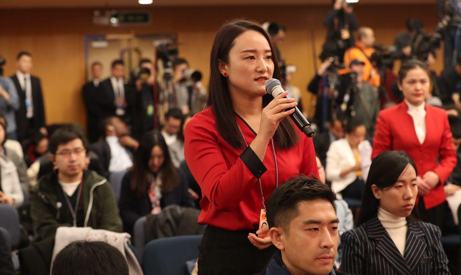 中國扶貧雜志記者提問