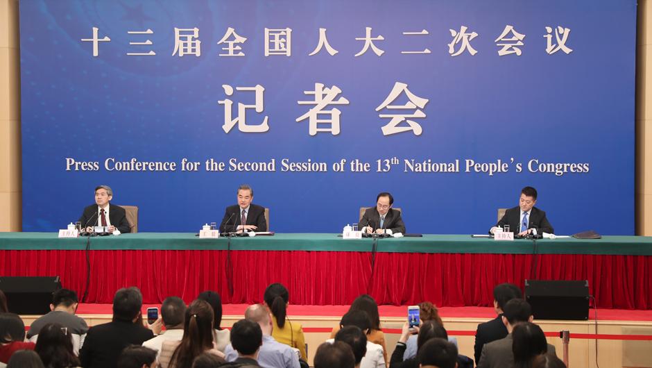 王毅回答記者提問