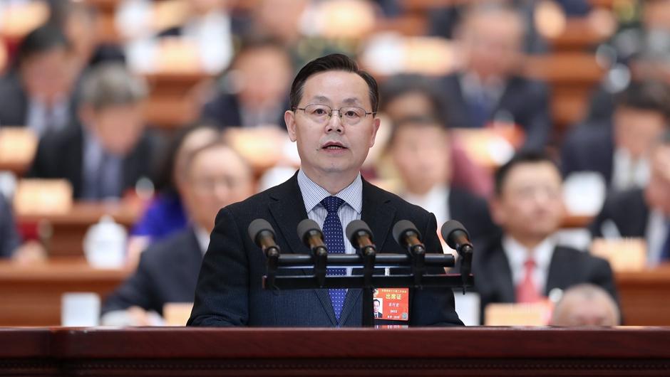 蔣作君委員代表致公黨中央作大會發言